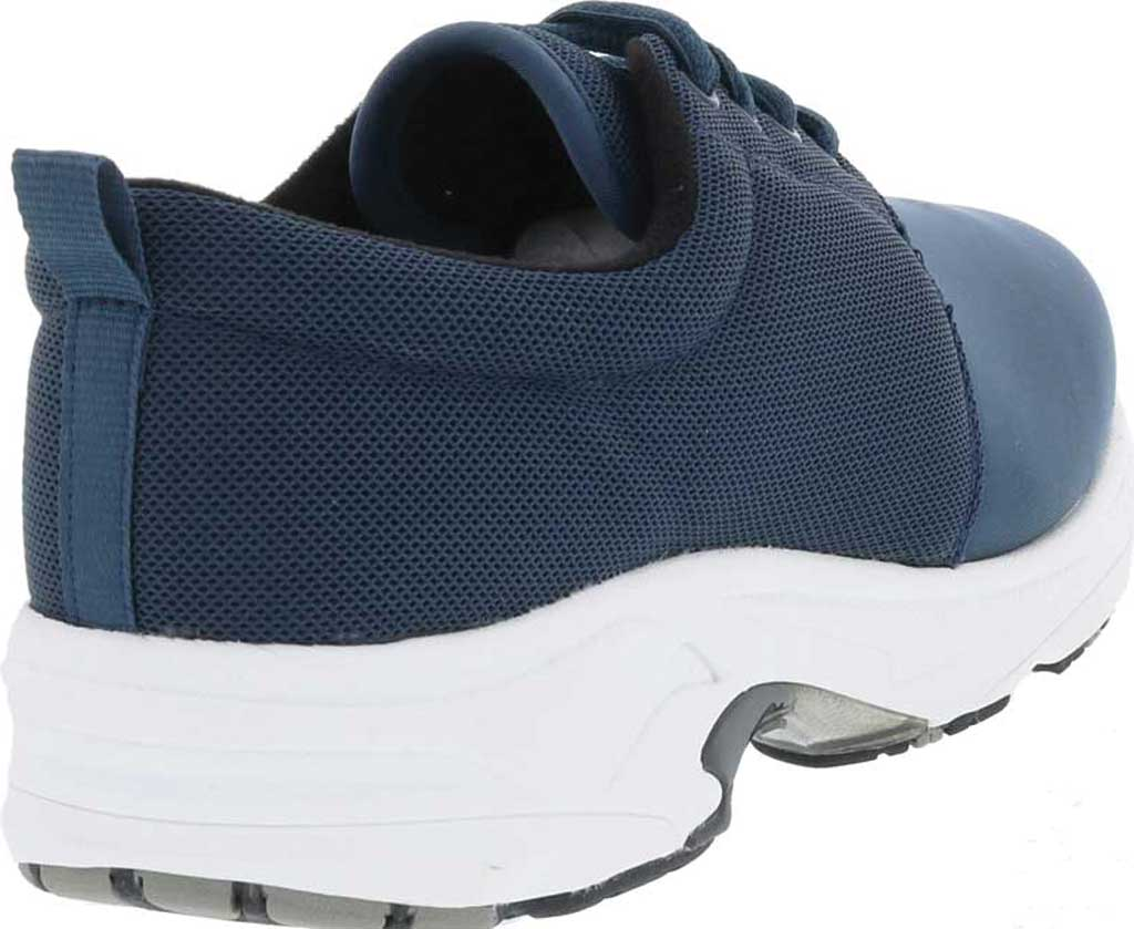 Women's Drew Excel Sneaker, Navy Leather, large, image 4