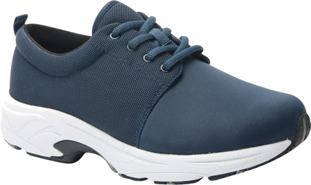 Women's Drew Excel Sneaker, Navy Leather, large, image 1
