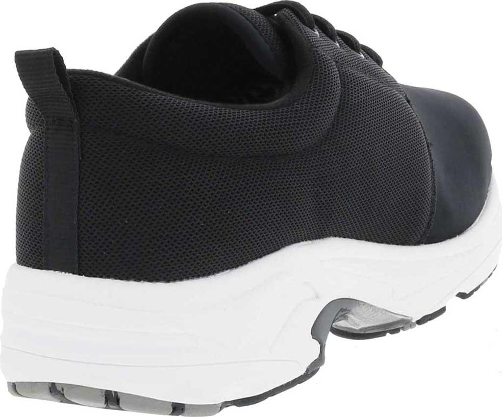 Women's Drew Excel Sneaker, Black Leather/Nylon, large, image 4
