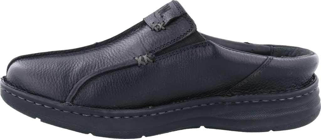 Men's Drew Jackson Mule, Black Leather, large, image 3