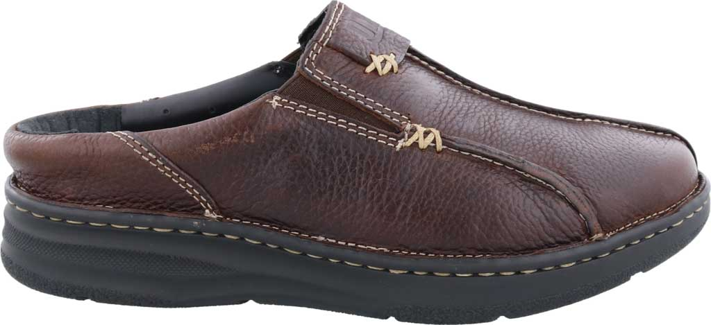 Men's Drew Jackson Mule, Brown Leather, large, image 2