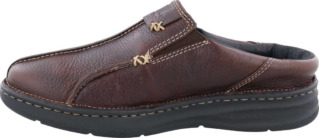 Men's Drew Jackson Mule, Brown Leather, large, image 3