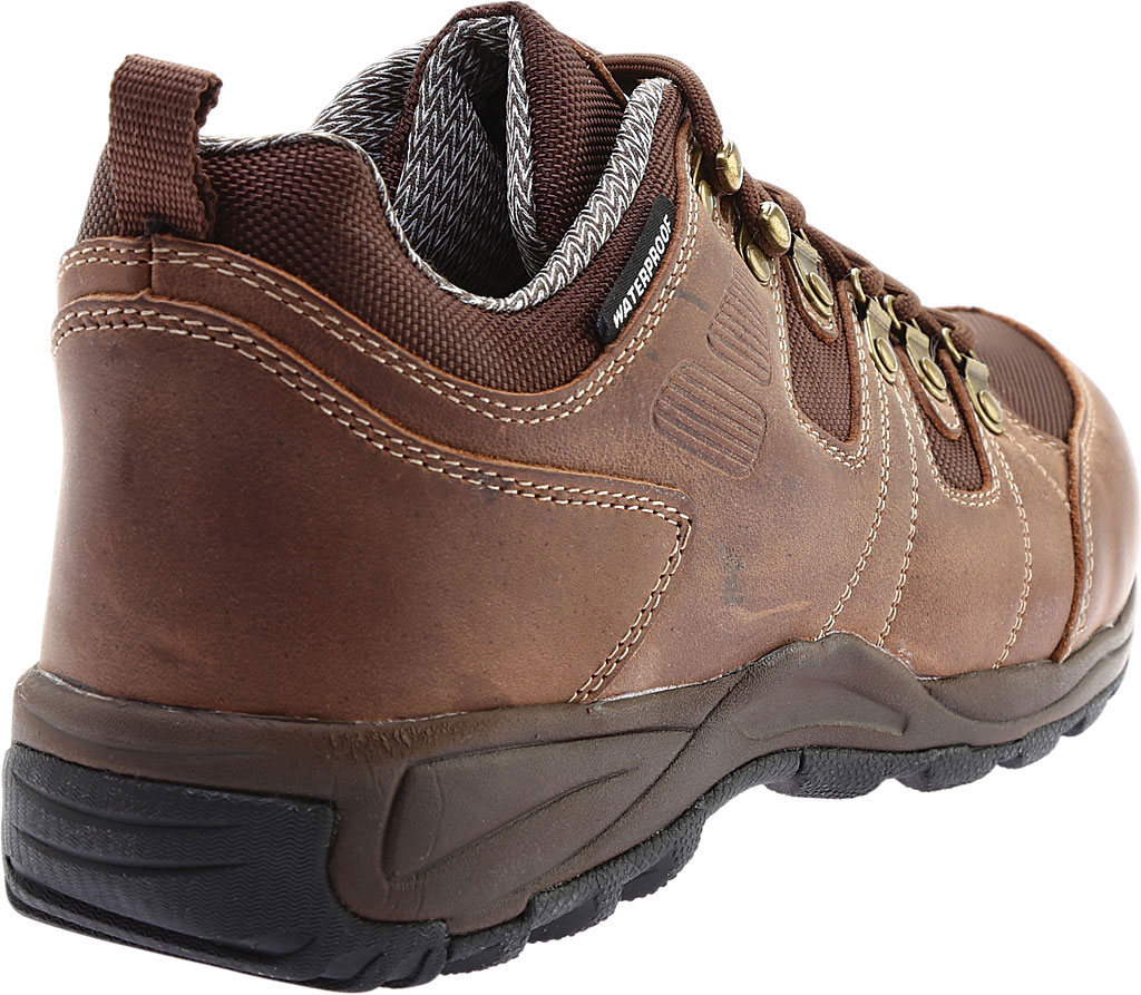 Men's Drew Canyon Waterproof Hiker, Black Leather, large, image 4