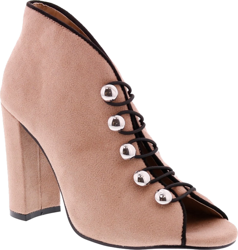 Women's Penny Loves Kenny Ratch Open Toe Bootie, , large, image 1