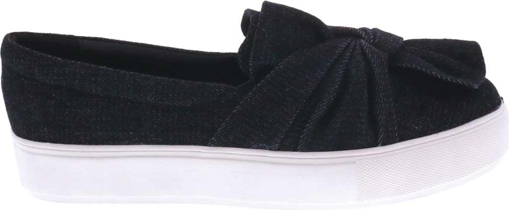 Women's Bellini Twist Sneaker, Black Denim, large, image 2