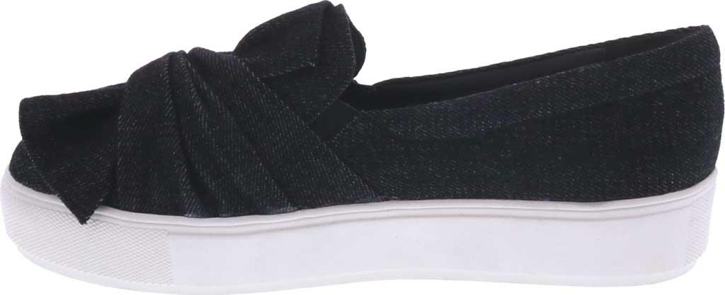 Women's Bellini Twist Sneaker, Black Denim, large, image 3