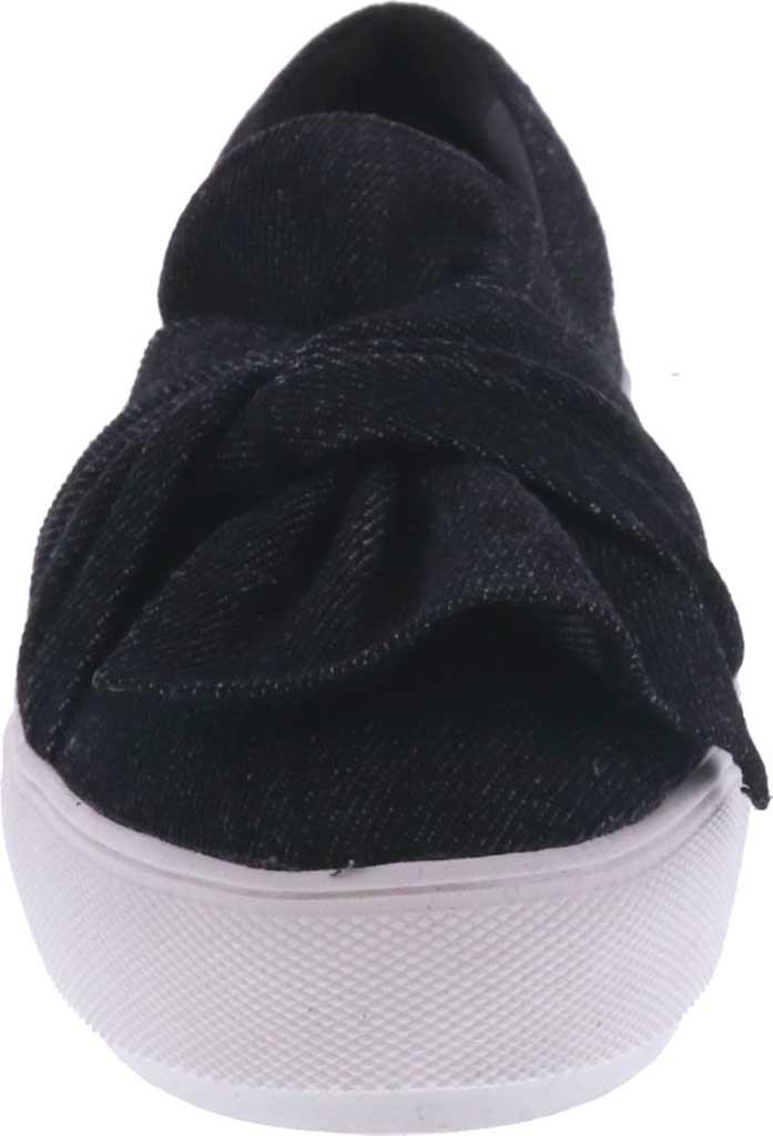 Women's Bellini Twist Sneaker, Black Denim, large, image 4
