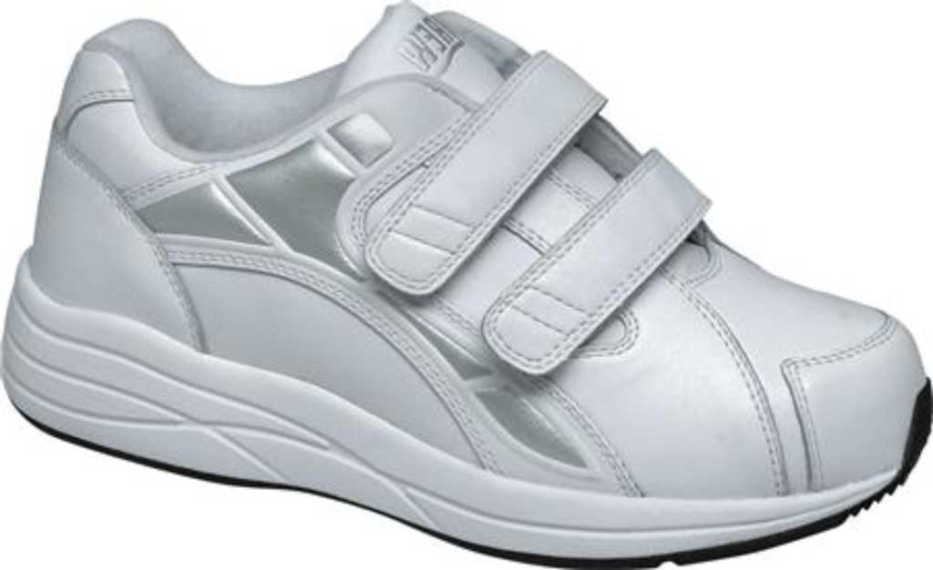 Women's Drew Motion V Sneaker, White Calf Leather, large, image 1