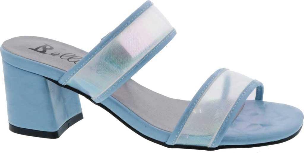 Women's Bellini Fizzle Slide Sandal, Blue Lucite, large, image 2