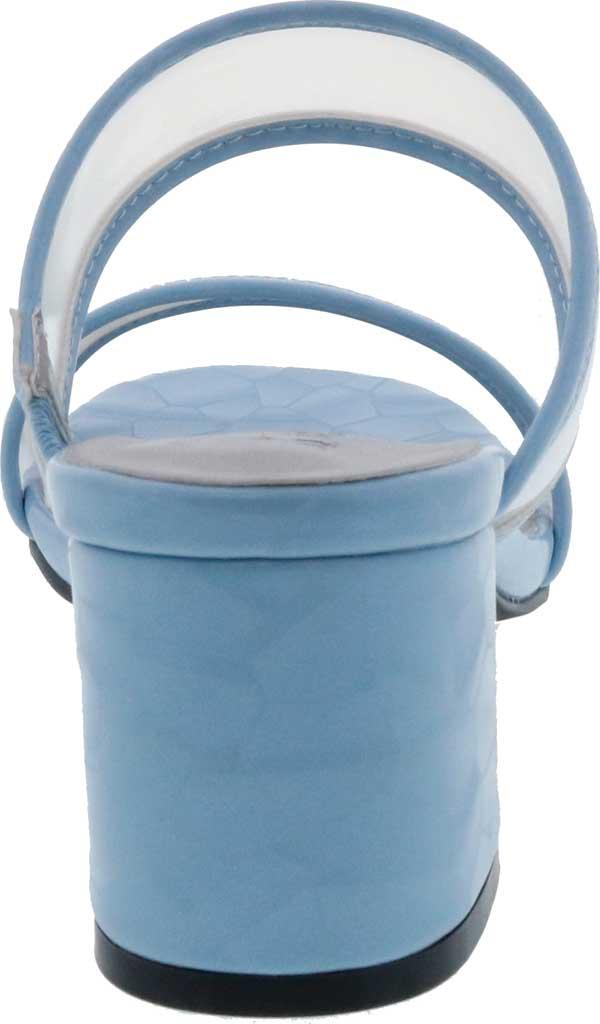 Women's Bellini Fizzle Slide Sandal, Blue Lucite, large, image 4