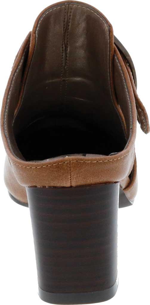 Women's Bellini Piper Block Heel Mule, Brown Faux Buck, large, image 4