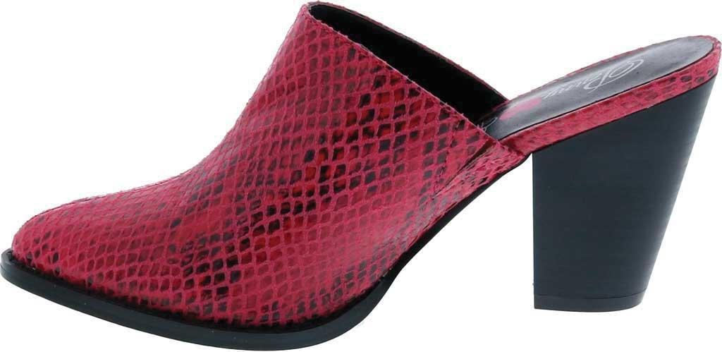 Women's Penny Loves Kenny Sangria Block Heel Mule, , large, image 3