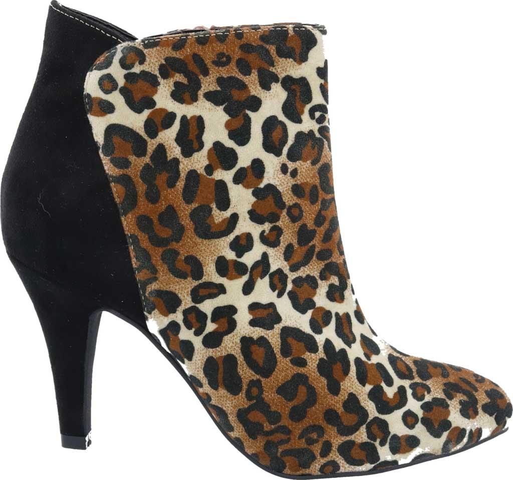 Women's Bellini Victoria Bootie, Leopard Microsuede, large, image 2