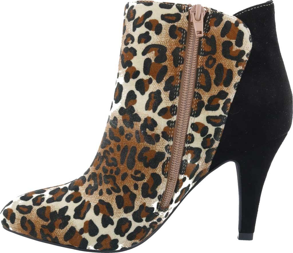 Women's Bellini Victoria Bootie, Leopard Microsuede, large, image 3