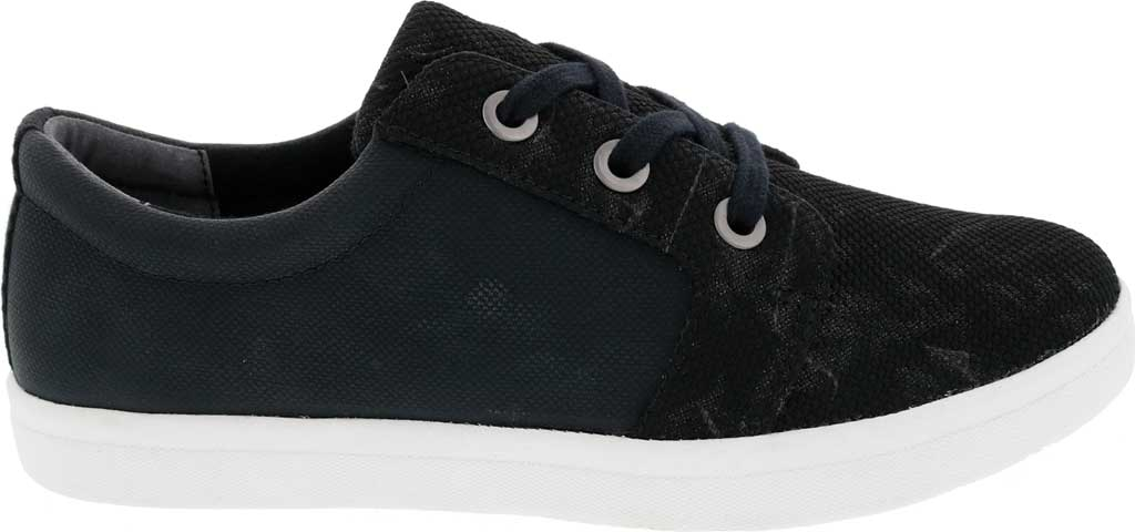 Women's Drew Ruby Sneaker, Black Combo Textile, large, image 2