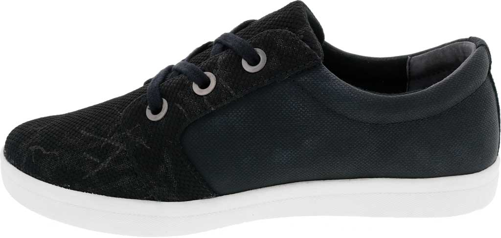 Women's Drew Ruby Sneaker, Black Combo Textile, large, image 3