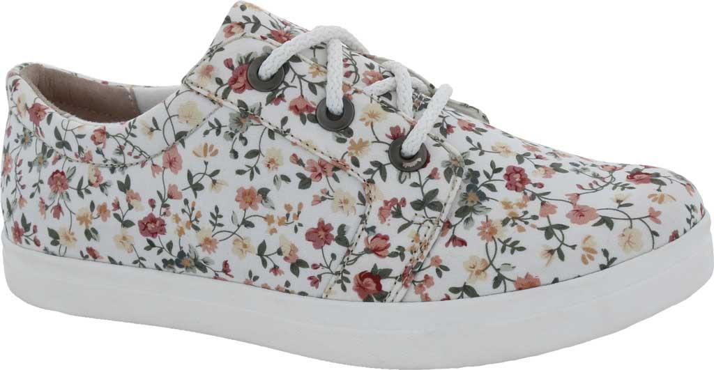Women's Drew Ruby Sneaker, White Multi Textile, large, image 1