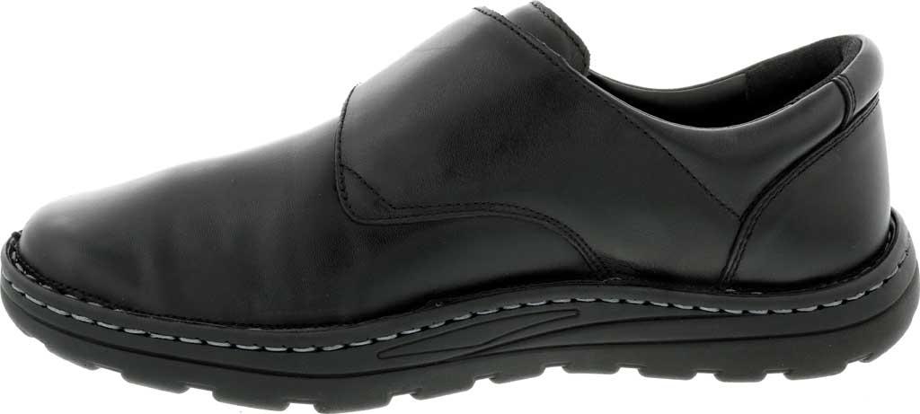 Men's Drew Watson Hook and Loop Shoe, Black Textile/Leather, large, image 3