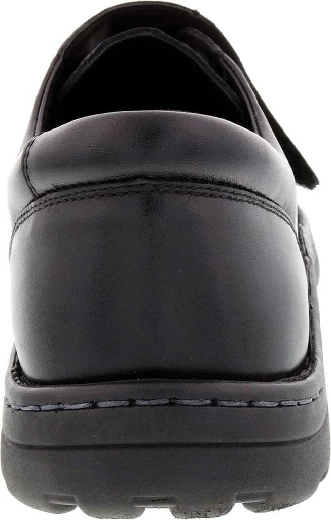 Men's Drew Watson Hook and Loop Shoe, Black Textile/Leather, large, image 4