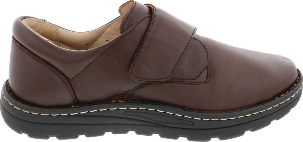 Men's Drew Watson Hook and Loop Shoe, Brown Textile/Leather, large, image 2