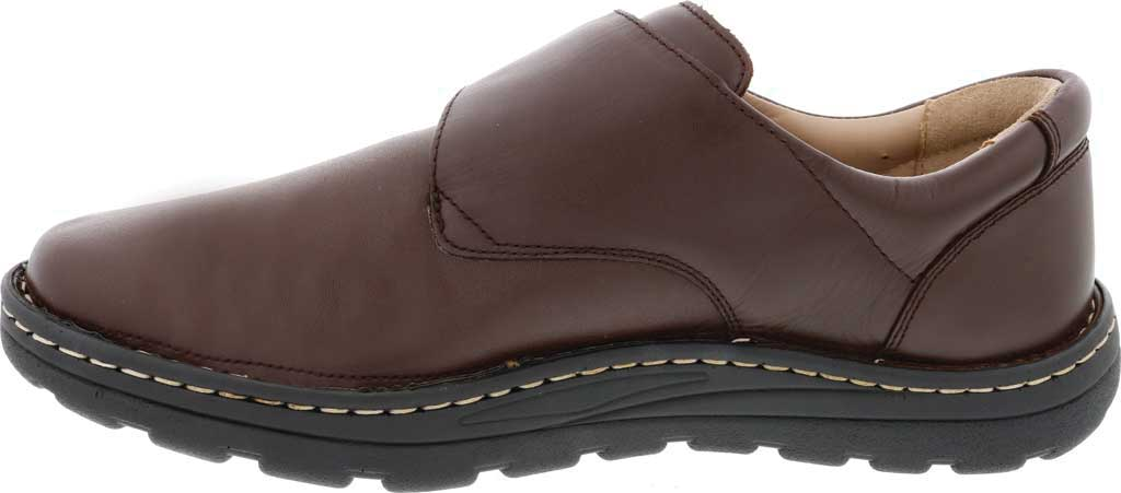 Men's Drew Watson Hook and Loop Shoe, Brown Textile/Leather, large, image 3