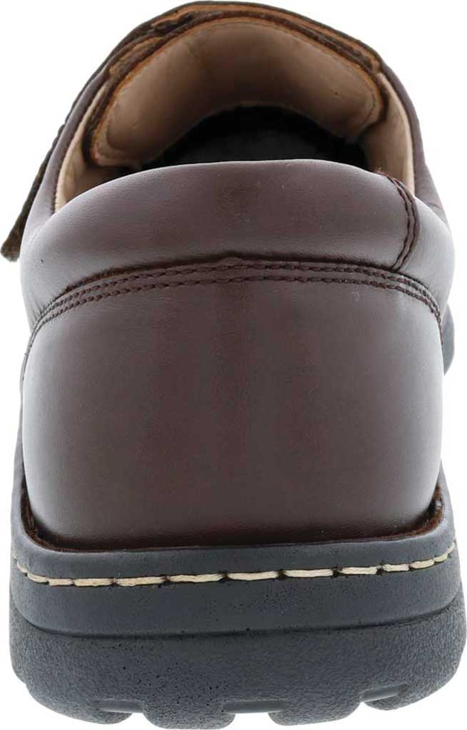 Men's Drew Watson Hook and Loop Shoe, Brown Textile/Leather, large, image 4