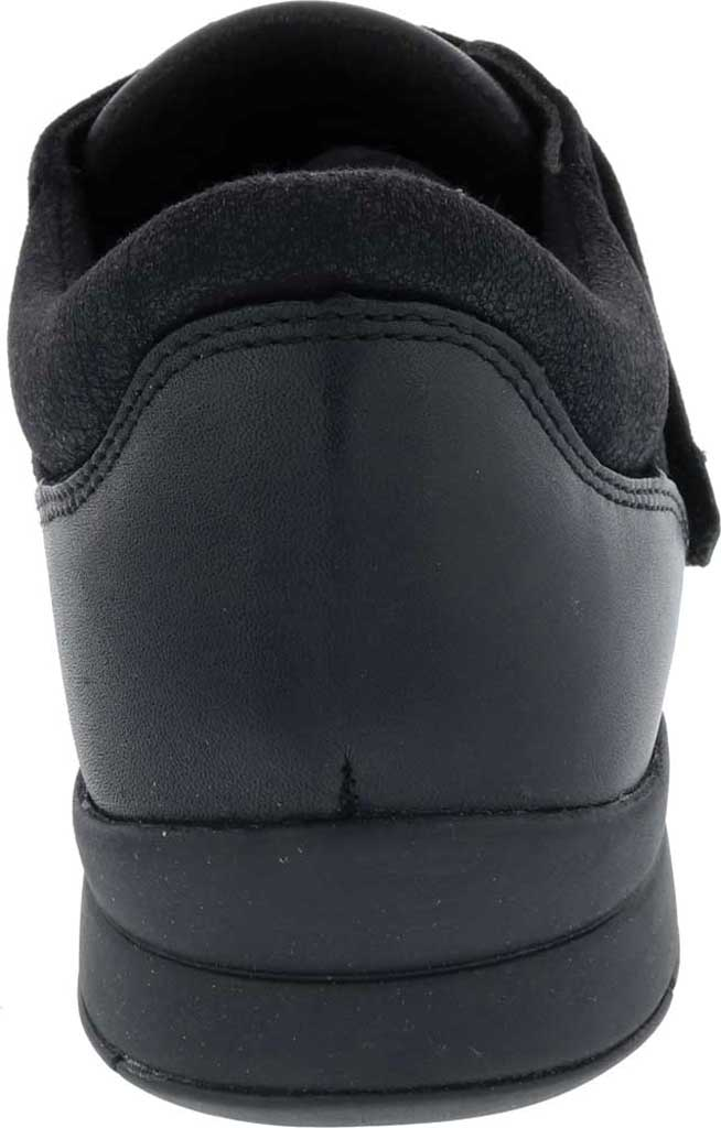 Women's Drew Moonwalk Sneaker, Black Knit/Leather, large, image 4