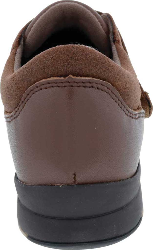 Women's Drew Moonwalk Sneaker, Brown Knit/Leather, large, image 4