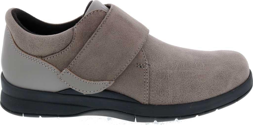 Women's Drew Moonwalk Sneaker, Grey Knit/Leather, large, image 2