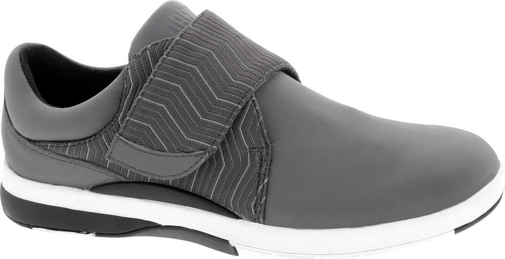 Women's Drew Moonwalk Sneaker, Grey Lycra/Leather, large, image 1