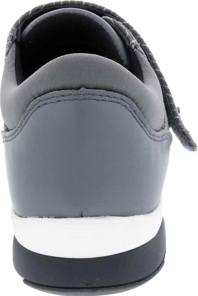 Women's Drew Moonwalk Sneaker, Grey Lycra/Leather, large, image 4