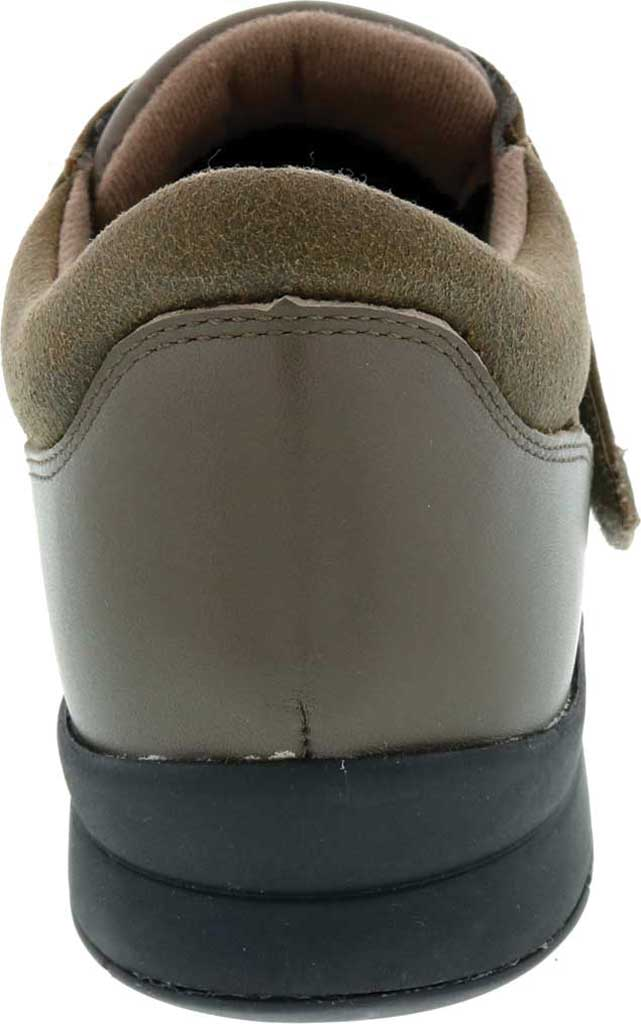 Women's Drew Moonwalk Sneaker, Olive Knit/Leather, large, image 4