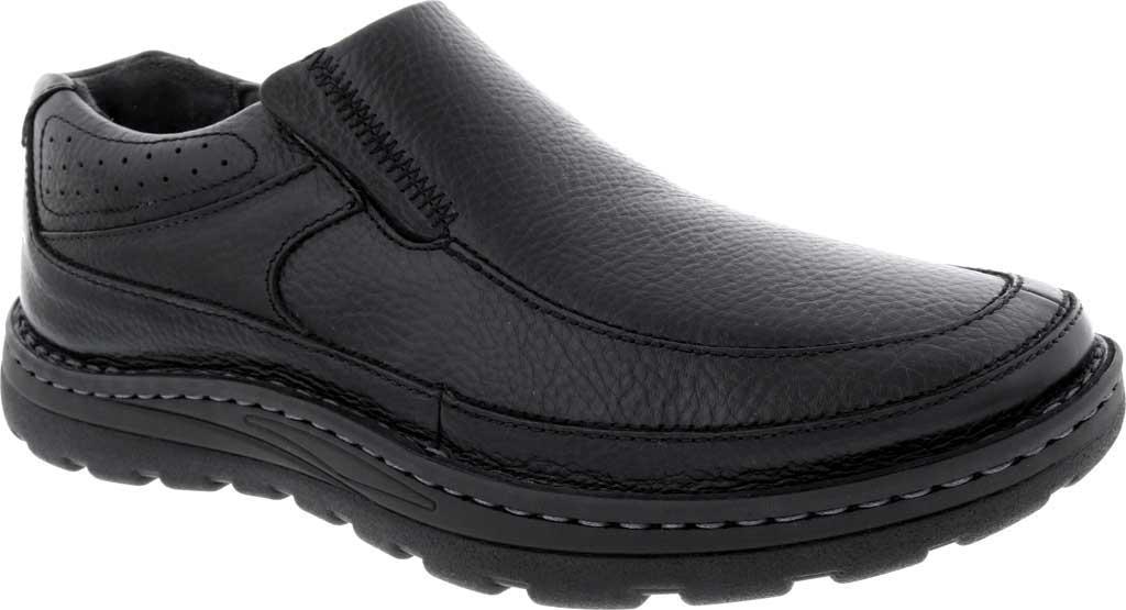 Men's Drew Bexley II Slip On, Black Leather, large, image 1