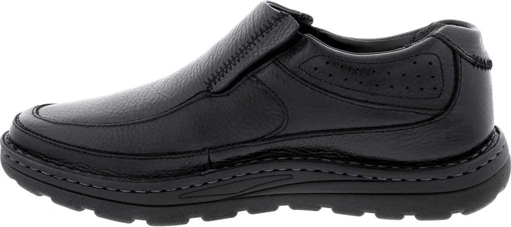 Men's Drew Bexley II Slip On, Black Leather, large, image 3