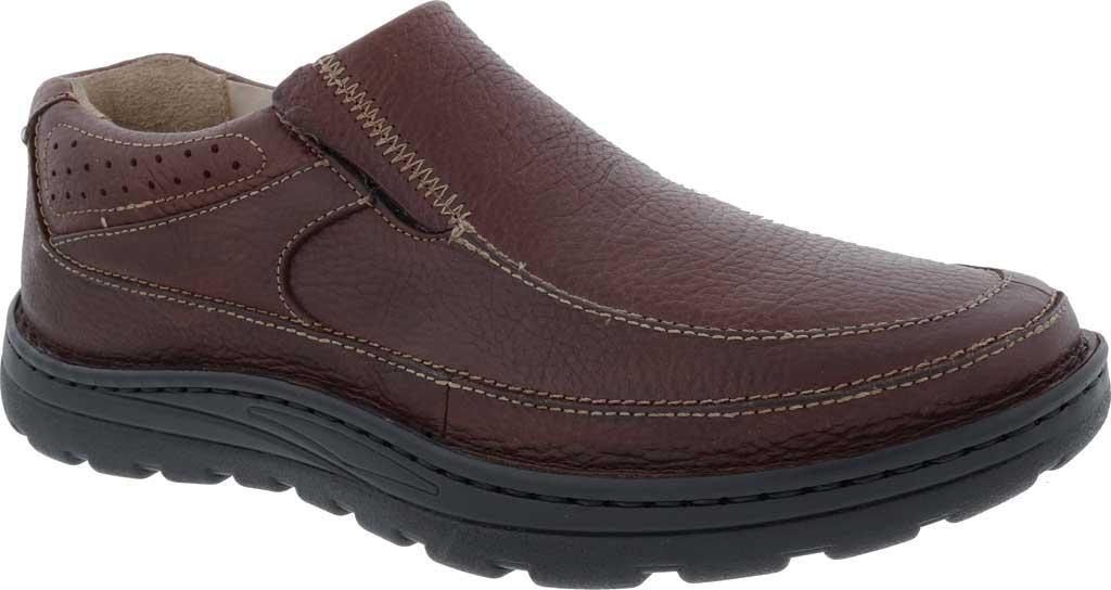 Men's Drew Bexley II Slip On, Brown Tumbled Leather, large, image 1
