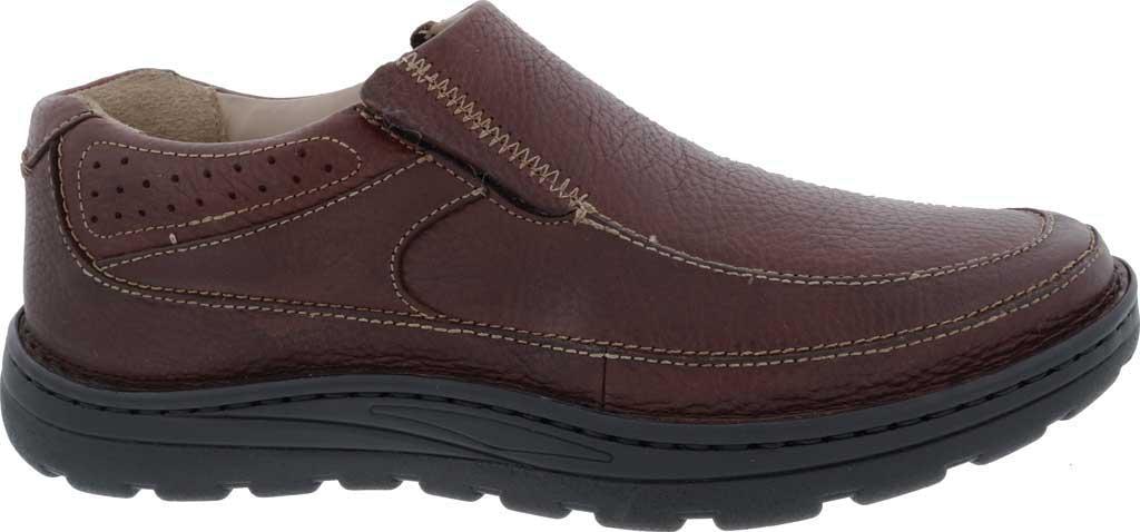 Men's Drew Bexley II Slip On, Brown Tumbled Leather, large, image 2