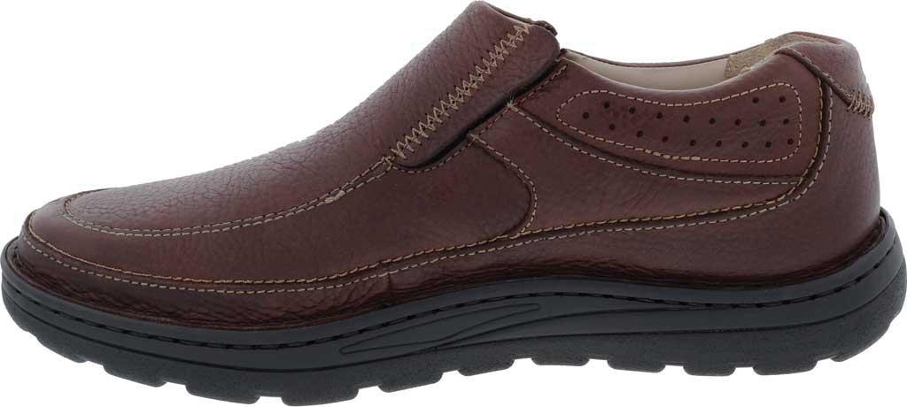 Men's Drew Bexley II Slip On, Brown Tumbled Leather, large, image 3