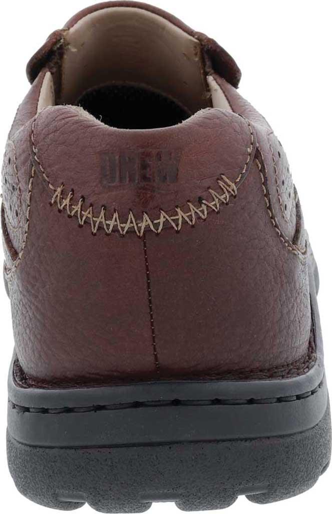 Men's Drew Bexley II Slip On, Brown Tumbled Leather, large, image 4