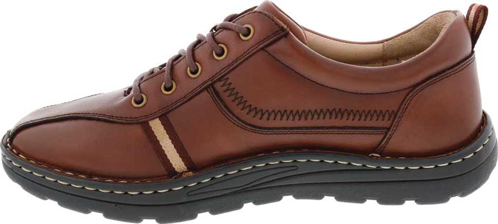 Men's Drew Hogan Oxford, Brown Leather, large, image 3