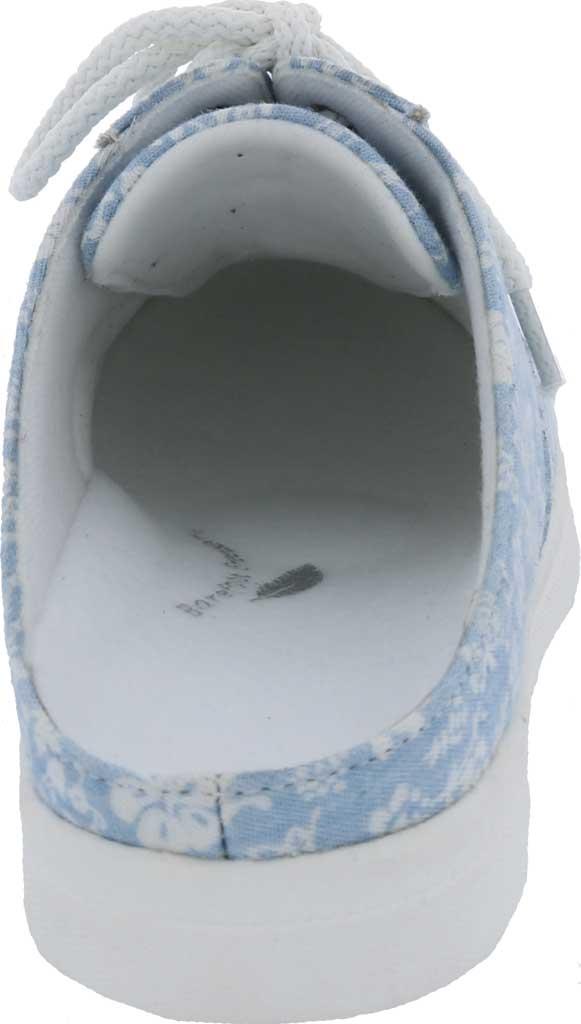 Women's Drew Sunstone Slip On Sneaker, Blue/White Canvas, large, image 4