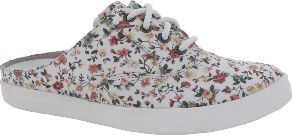Women's Drew Sunstone Slip On Sneaker, White Multi Textile, large, image 1
