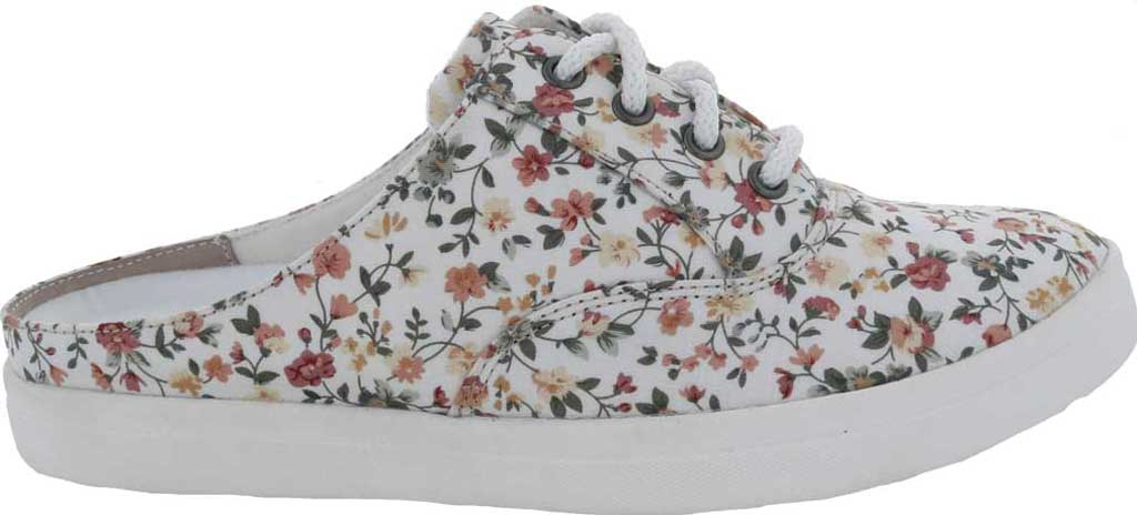 Women's Drew Sunstone Slip On Sneaker, White Multi Textile, large, image 2