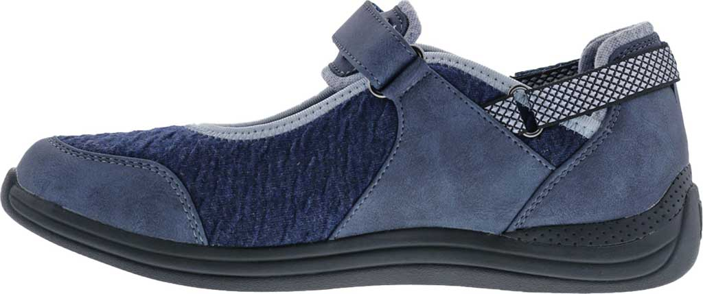 Women's Drew Buttercup Mary Jane, Navy Suede/Mesh, large, image 3