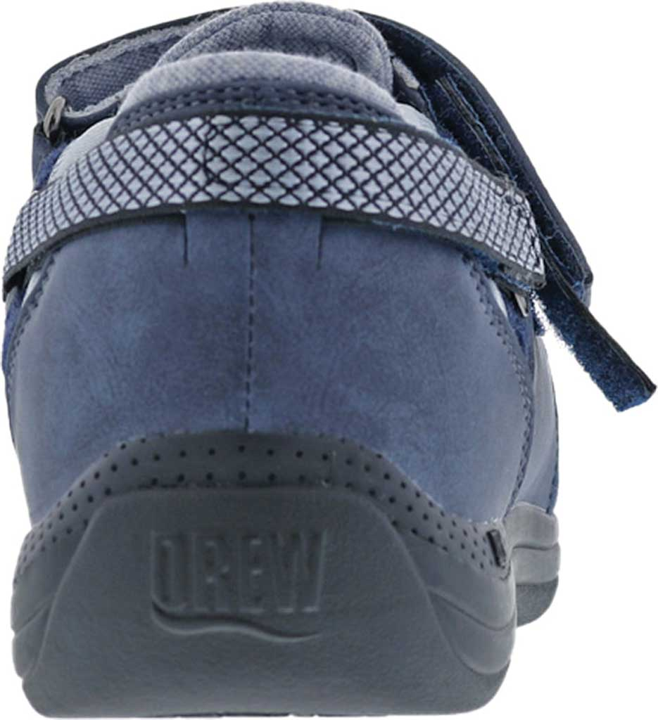 Women's Drew Buttercup Mary Jane, Navy Suede/Mesh, large, image 4