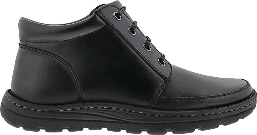 Men's Drew Trevino Ankle Boot, Black Leather, large, image 2