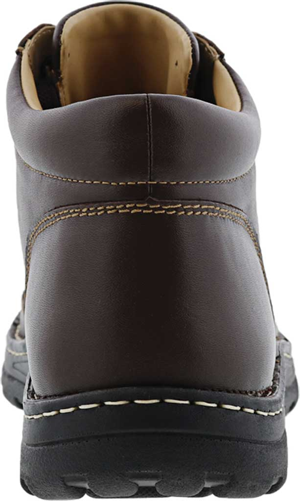 Men's Drew Trevino Ankle Boot, Brown Leather, large, image 4