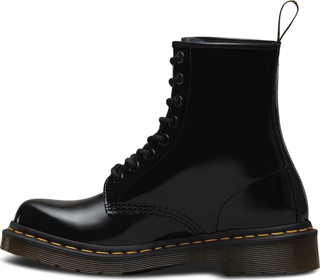 Women's Dr. Martens 1460 8-Eye Boot, Black Patent Lamper, large, image 3