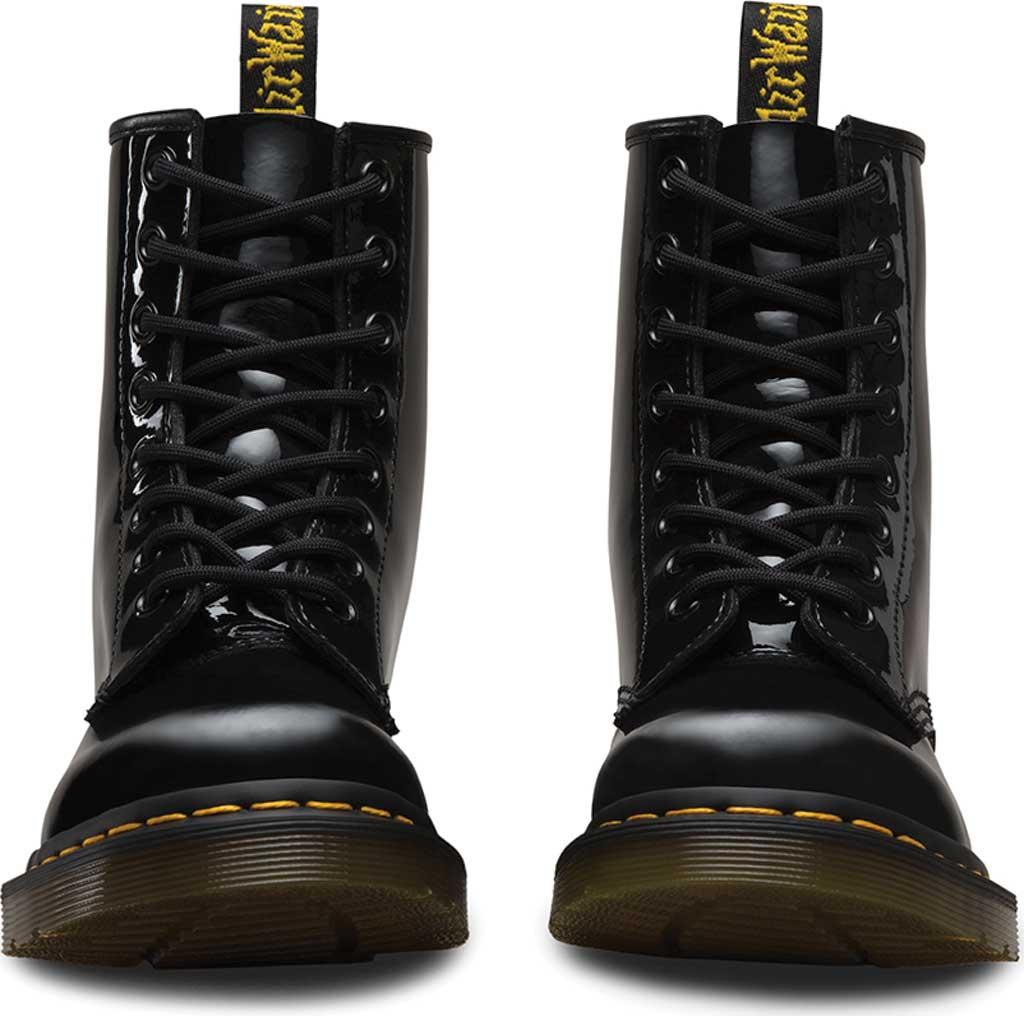 Women's Dr. Martens 1460 8-Eye Boot, Black Patent Lamper, large, image 4