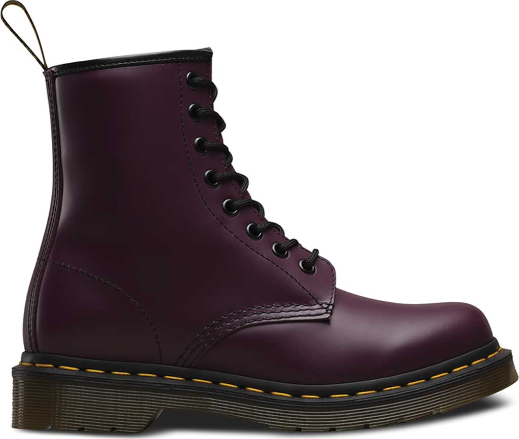 Women's Dr. Martens 1460 8-Eye Boot, Purple Smooth, large, image 2