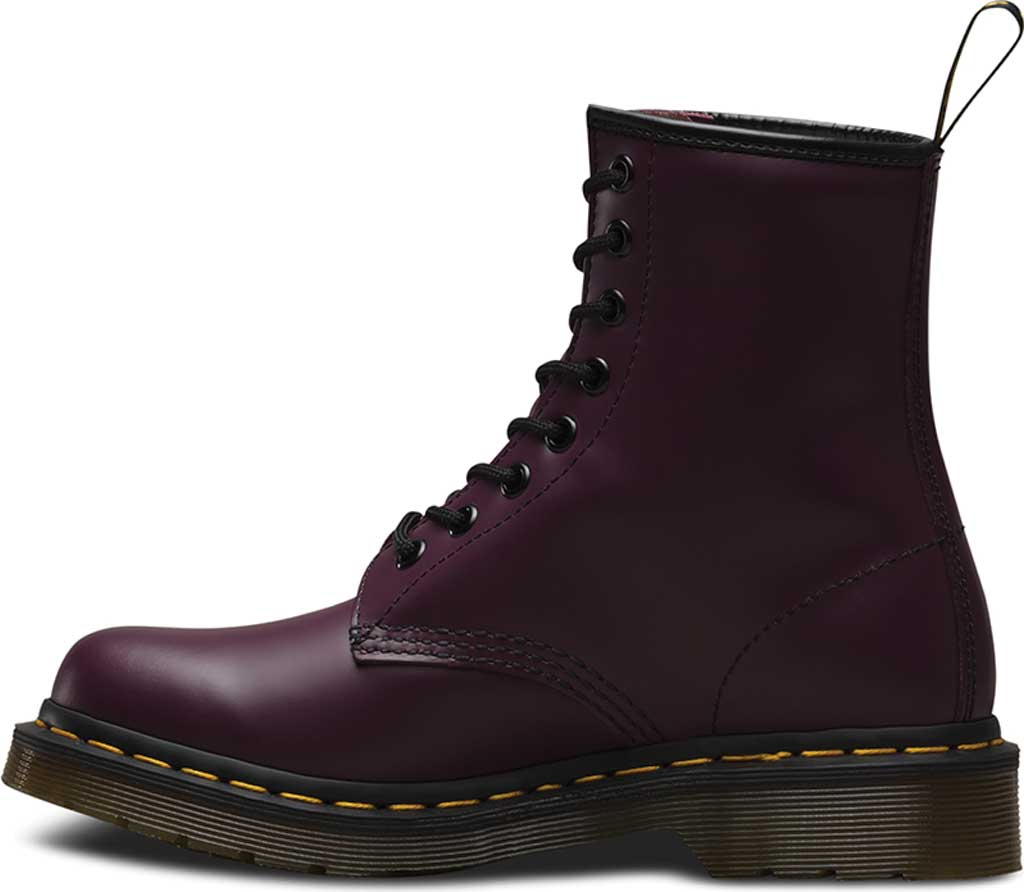 Women's Dr. Martens 1460 8-Eye Boot, Purple Smooth, large, image 3
